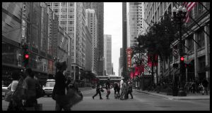 Chicago Theater Red by thirteenthman
