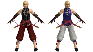 DOA5U Eliot costumes 1 and 3 by zareef