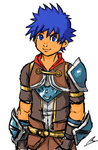 Breath of fire 6 main character ryufied by borockman