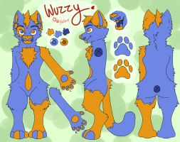 Wuzzy reference sheet - commission by THEsquiddybum
