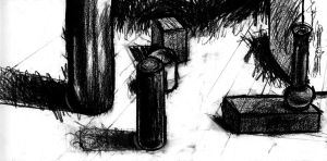 Objects in Charcoal by HeStoppedTheRain