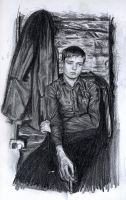 Ian Curtis.pencil by Bitterkawaii