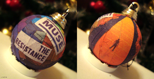 The Resistance bauble by L-Justine