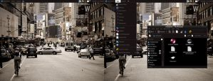 City Streets by wallybescotty