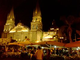 Guadalajara at Night 6 by Foxdale