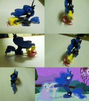 Luna x Fluttershy on ebay by EarthenPony