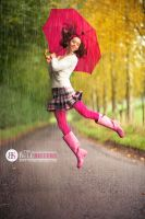 Dancing In The Rain by thesashabell