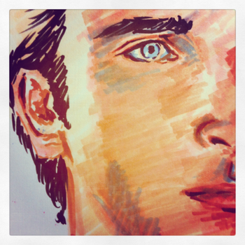Tom Welling sketch by koi-no-yokan
