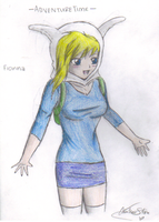 Anime Fionna by XTaintedxBloodX