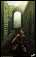 Tomb Raider : The ruins by diabolumberto