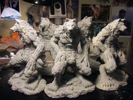 Angela's Werewolf castings by Meadowknight