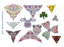 celtic sheet 39 by agaricgreywolf