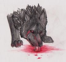 Blood Thirsy by Lost-Wolf-Soul