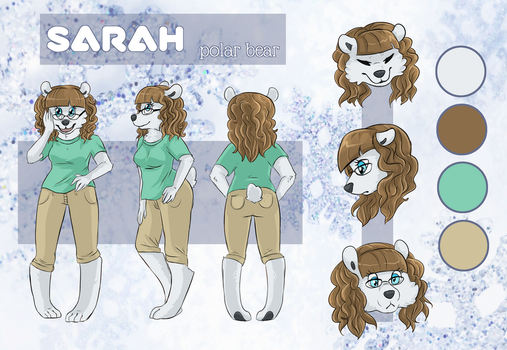 fursona sheet commission by teabut