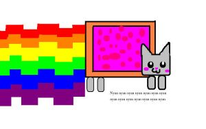 Paint Nyan Cat by Landras