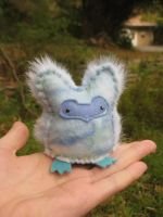 Winter Owlet plush by Lithe-Fider
