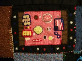 Personal Quilt Holiday Picnic Patch by grandmoonma