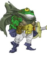 COLORS - Chrono Trigger - Frog by dx2