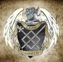 CANFIELD COAT OF ARMS by tat2tiger
