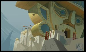 Color Study 4 - The Emperor's New Groove by leticiakao