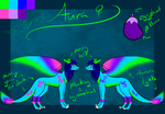 Aura Reference Sheet by ChemicallyColorful