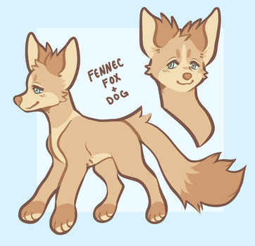 Fox Dog adoptable OPEN by dog-san