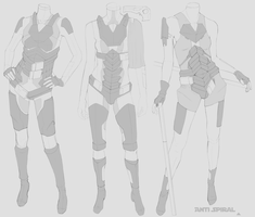 Light armour base model designs by AntiSpiral99