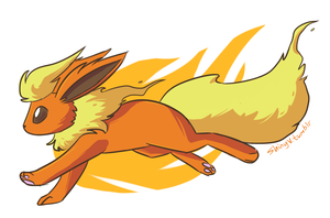 flareon is cool by ShinyVulpix