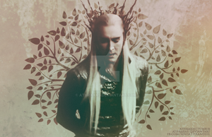 King of the Elves of the Wood by Athraxas