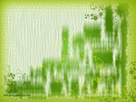 Green Abstract by soumya-dip