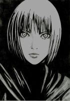 Claire - Claymore by Kelia1420