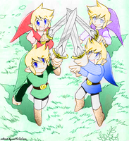 Forever Four Swords by ilovemunchkins68