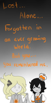You remembered me. by Ask-TrickrTreat-King