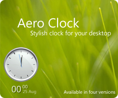 Aero Clock by zimaq