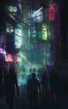 Cyberpunk Practice by JobMenting