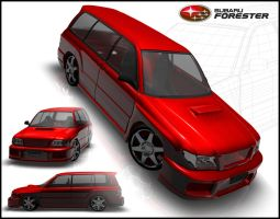 2001 Subaru Forester by L-X