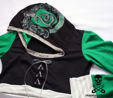 Harry Potter Slytherin Shrug 6 by smarmy-clothes