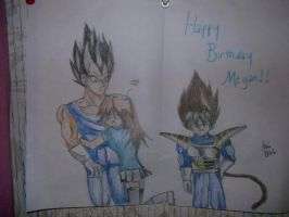 Vegeta and me by secret-lips-101