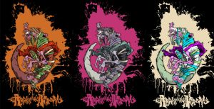 rat bastard TRIO color schemes by SCOTTeFRESH