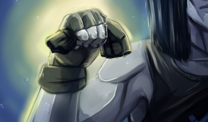The sweat-masters gloves! by HauntedWeeaboo