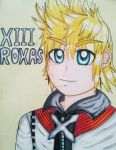 No. XIII Roxas by TealEevee15