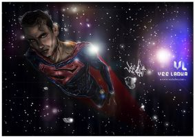 SUPERMAN - Space Flight by VeeEL