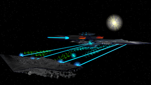 USS Trenalk vs SSD Executor by Marksman104