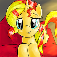 Sunset Shimmer by manfartwish