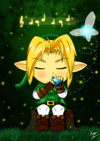 Chibi Link - Ocarina of Time by Khay-Lis