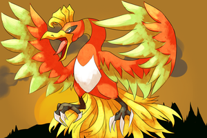 Collab- Ho-Oh by ShayminSky123