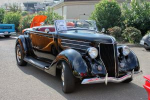 36 Ford Roadster. by StallionDesigns