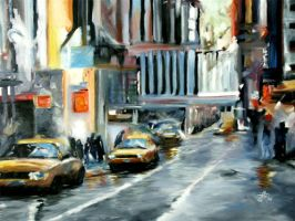 Yellow cabs by Buble