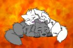Art Trade - Cher and Yasen by Firewolf-Anime