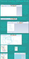 MSPaint Lineless Tutorial by kiananuva12
